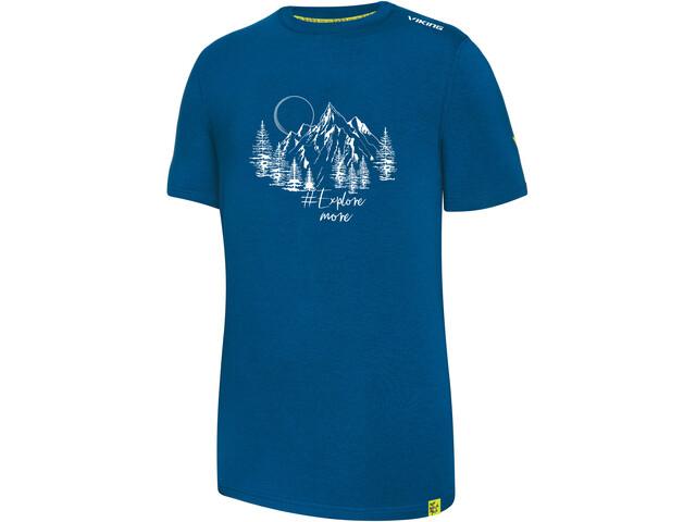 Viking Europe Bamboo Light T-Shirt Men blue